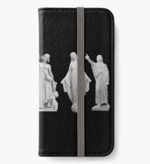 Frauen aus Marmor iPhone Flip-Case/Hülle/Skin
