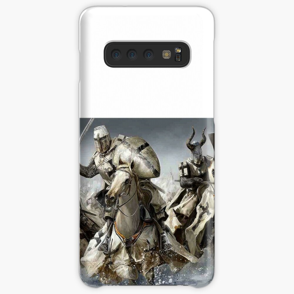 Teutonic Knights crusading in Winter Case & Skin for Samsung Galaxy