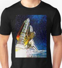Spaceship Launch Unisex T-Shirt