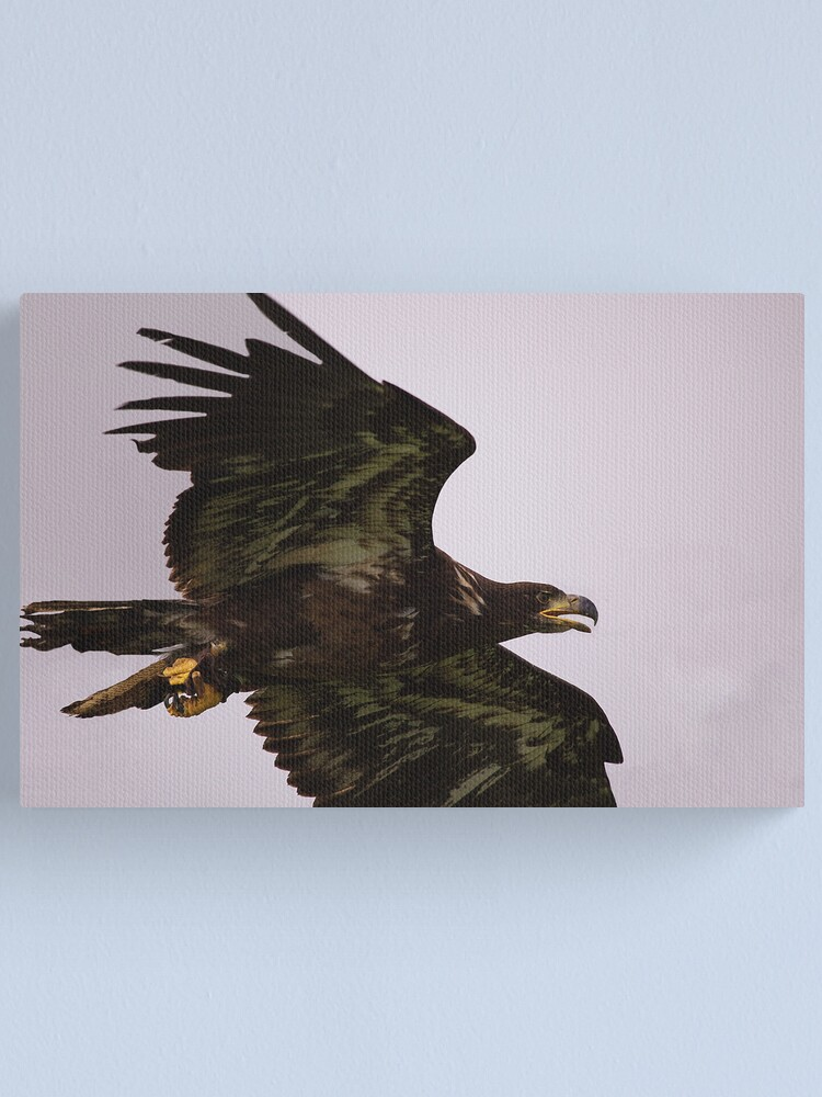 Alternate view of Coming over Canvas Print
