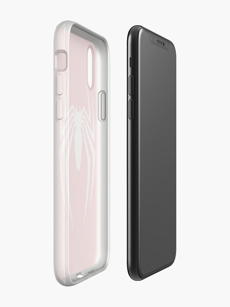 Vista alternativa de Vinilos y fundas para iPhone PS4 Spider