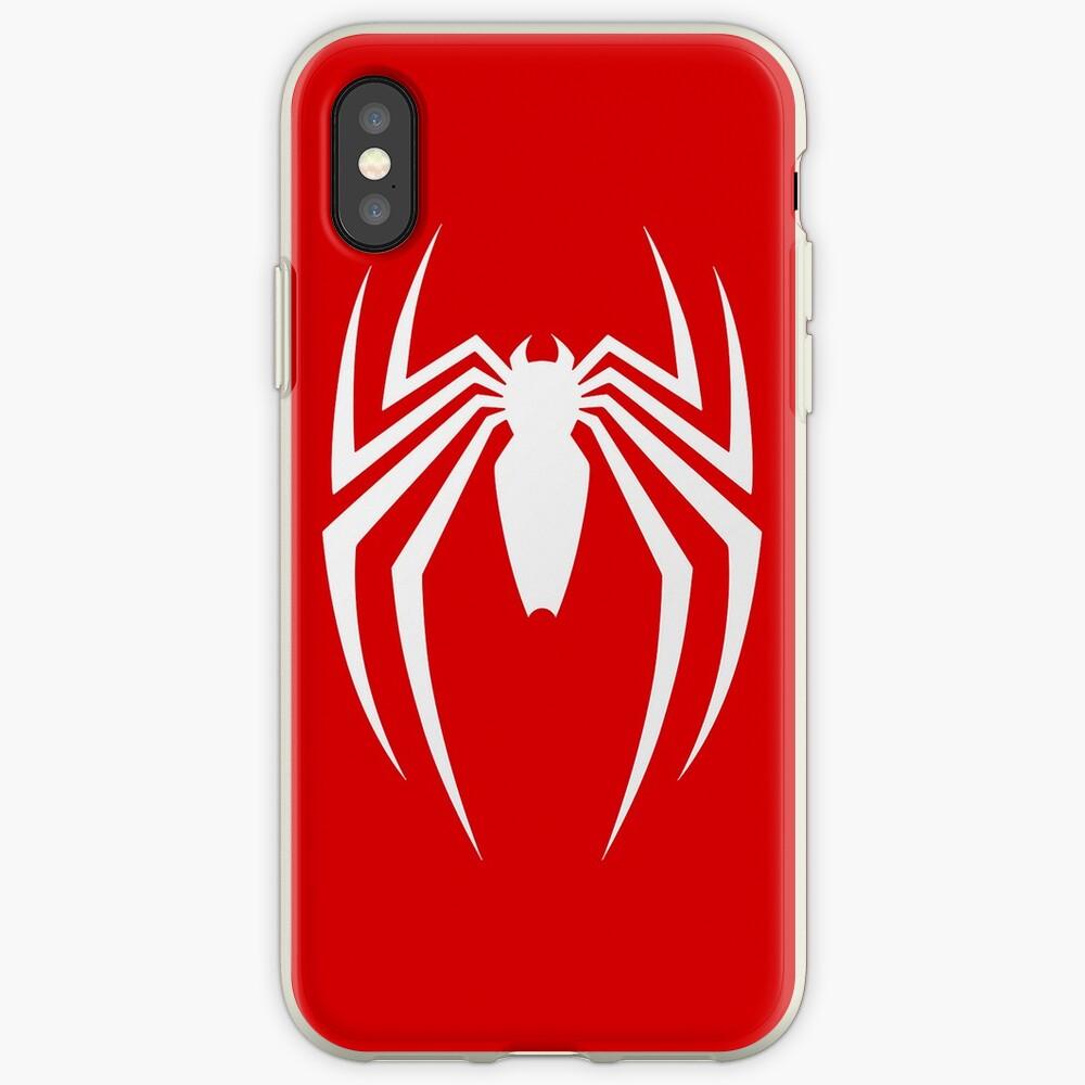 PS4 Spider Vinilos y fundas para iPhone