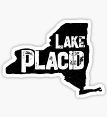 Lake Placid, New York, Lake Life Sticker