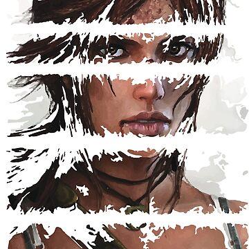 Lara Croft Torn by ProjectPixel