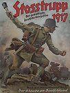 Stosstrupp 1917..vintage WWI German movie poster by edsimoneit