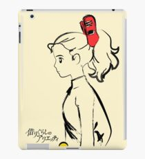 The red clip iPad Case/Skin