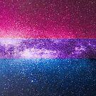 Bisexuelle Galaxy Flagge von Ash Tomb
