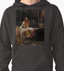 The Lady of Shalott (John W. Waterhouse) Pullover Hoodie