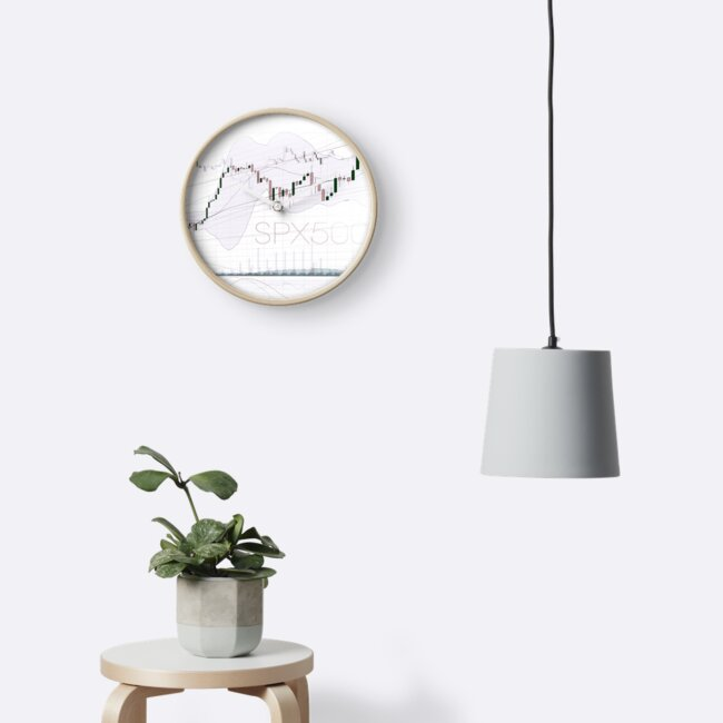 Stock market charts trading and investment concept art photo print by AwenArtPrints
