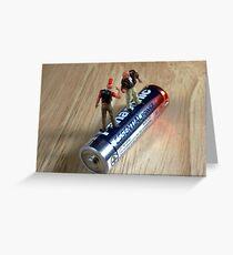 Assault & Battery Greeting Card