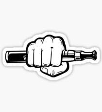 EZIGARETTE VAPING hand vaping Sticker