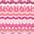 Pink Scrapbook Chevron Pattern by ArianaDagan