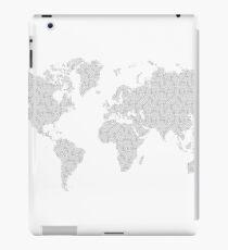 Digital Cartography iPad Case/Skin