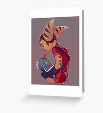 Ratchet and Clank_03 Greeting Card