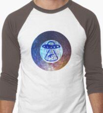 UFO Alien Abuduction Graphic Men's Baseball ¾ T-Shirt