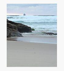 Sunrise at Redhead Beach - 2 Photographic Print
