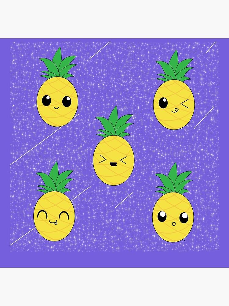 Ananas-Galaxie-Muster von ArtByEmma99