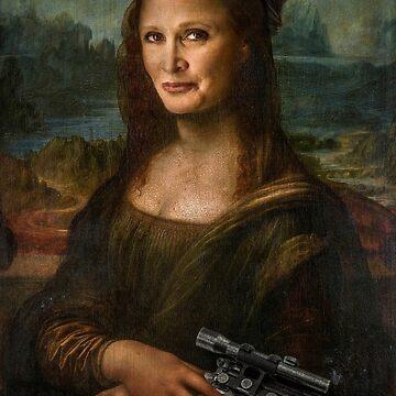 Mona Leia by BigRedCurlyGuy
