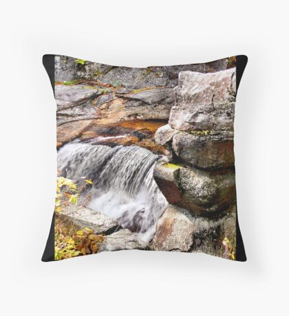 Sprained Ankle Falls Throw Pillow