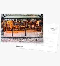 Parisian Cafe 2 Postcards