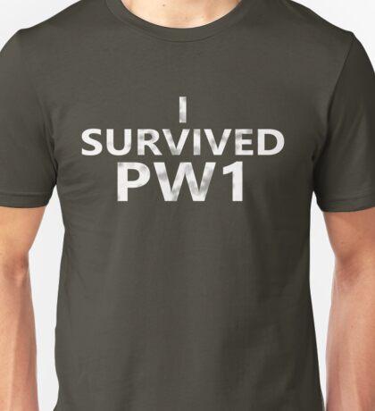 I Survived PW1 Unisex T-Shirt