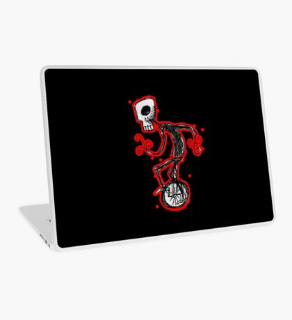 cyclops on a unicycle Laptop Skin