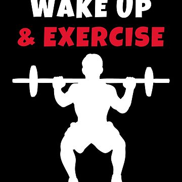 Wake up and exercise Barbell Full Squat by we1000