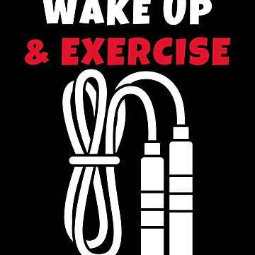Wake up and Exercise jump rope by we1000