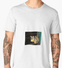 Brushtail Possum and Baby Men's Premium T-Shirt