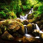 Irish Waterfall by Bendinglife