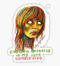 Zombie Nico Sticker