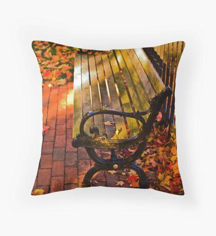 Autumn fever Throw Pillow