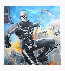 Skull Trooper Sythe Photographic Print