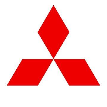 Mitsubishi Logo by roccoyou