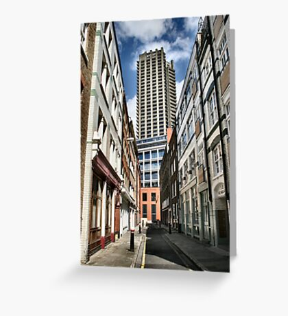 London old and new Greeting Card