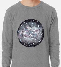 Schwarze Galaxie: Watercolor Lightweight Sweatshirt