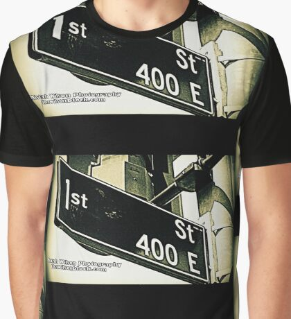 East 1st Avenue1 Los Angeles California by Mistah Wilson Photography Graphic T-Shirt