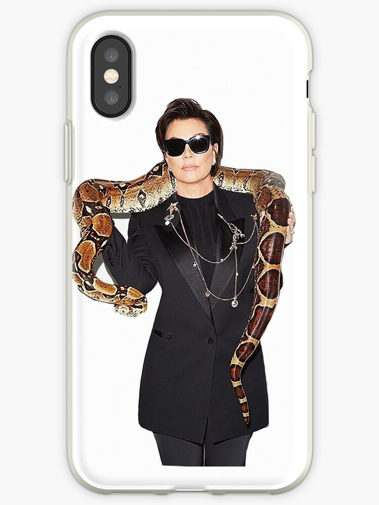 designer fashion 7ef70 268f1 'Kris Jenner' iPhone Case by Abbylanza5