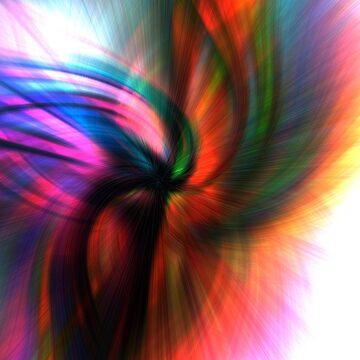 Abstract Swirl #2 Greeting Card by wordznart