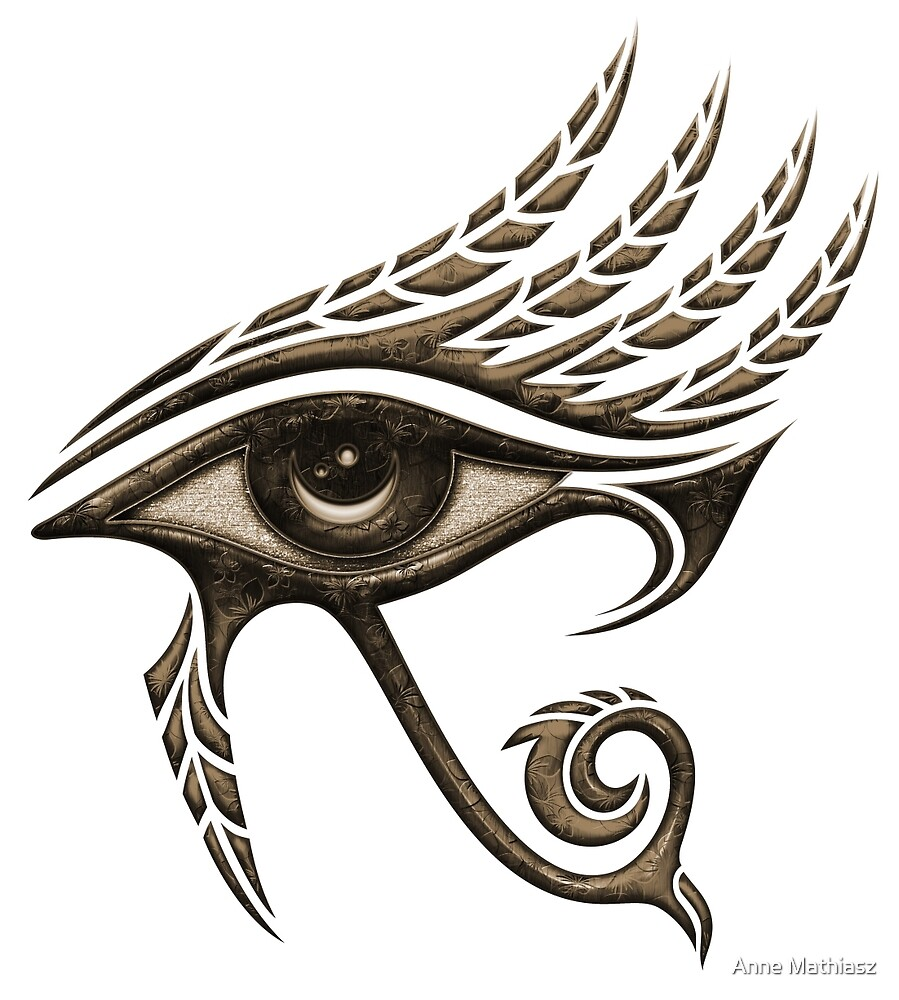 Quot Eye Of Horus Symbol Wisdom Amp Truth Protection Amulet Quot By Nitty Gritty Redbubble