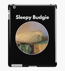Sleepy Budgie iPad Case/Skin