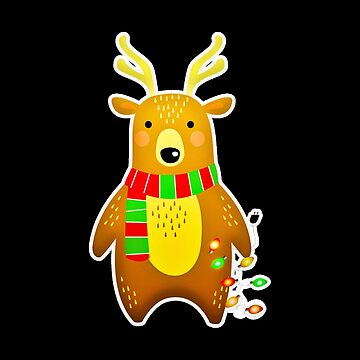 Christmas Gift - Cute Bear by FDST-shirts