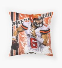Baker Mayfield  Throw Pillow