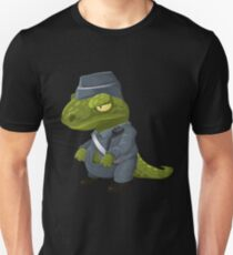 Halloween little Police Dinosaur Costume  Unisex T-Shirt