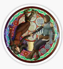 Korrasami - Circle Sticker