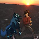 Keith and his Big Space Puppy by DeepSpaceAce