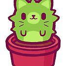 Kitty Cactus by cronobreaker