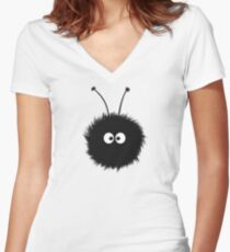 Dazzled Bug Women's Fitted V-Neck T-Shirt
