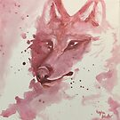 Wolf Painting by DeepSpaceAce
