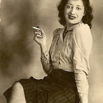 Hetty, My Mother, circa mid 1930's (story in the description)  by heatherfriedman